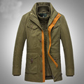 Winter Jacket Cold-Proof Parka 30 Degree Under Zero Cotton Linner Warm 2017 Down Coats Army Military Casual Jackets 811