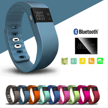 TW64 Smartband Actividad Gimnasio Wristband Impermeable Sueño Podómetro Bluetooth 4.0 IOS Android
