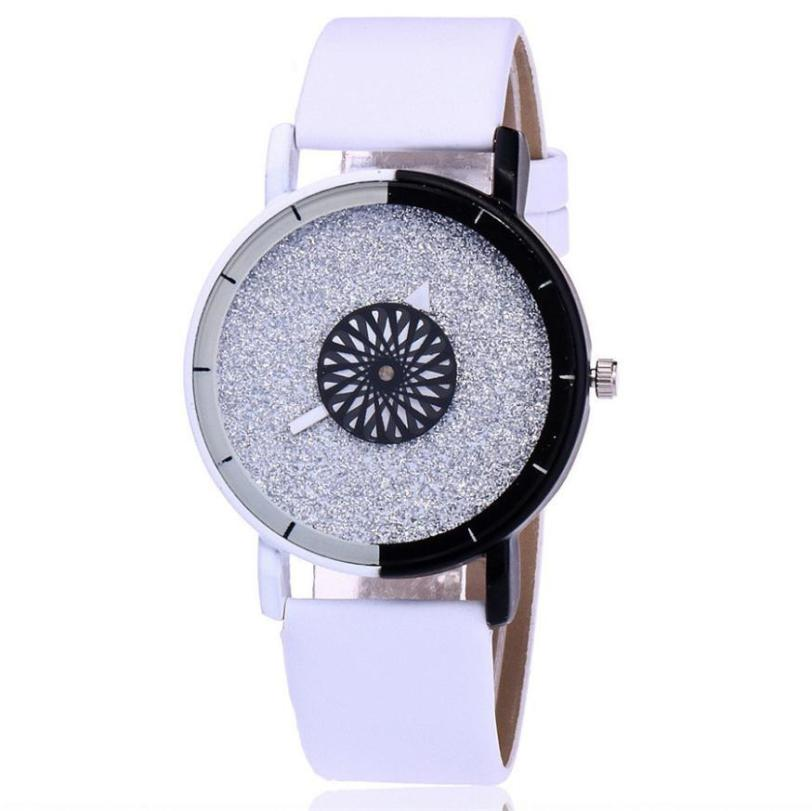 Relojes mujer 2018 New Leather Wrist watch Bracelet Quartz watch Woman Ladies Watches Clock Female Dress Relogio Feminino #D relojes mujer 2017 stainless steel wristwatch bracelet quartz watch woman ladies watches clock female dress relogio feminino