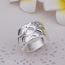 Hot Sell!Wholesale Sterling 925 ring,925 silver fashion ring,Prismatic Finger Rings R290