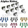 10 Unids Motocicleta 6 MM Aguja de Trabajo Corporal Carenado Tornillos M6 Velocidad de Cierre Clips de Resorte en Hélice Bolots Tuercas para Yamaha FZ1 FZ6 YZF R1 R6