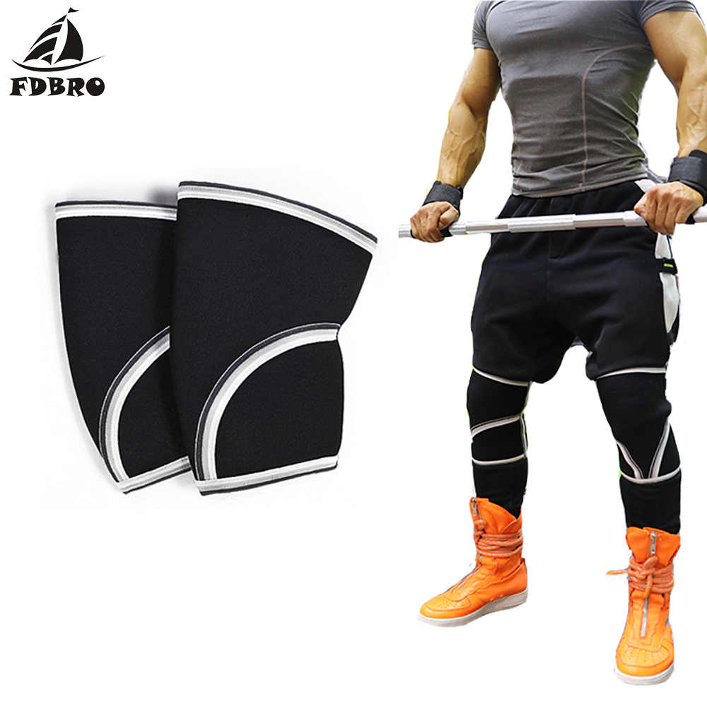 7mm Breathable Neoprene Elastic Knee Support Calf Leg Sleeve Weight Lifting Knee Brace Protector Sport Compression Knee Pads Aliexpress