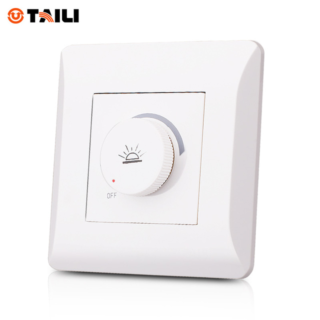 High quality dimmer switch white ac 110250v 16a home wall light high quality dimmer switch white ac 110250v 16a home wall light switch lamp dimmer aloadofball Image collections