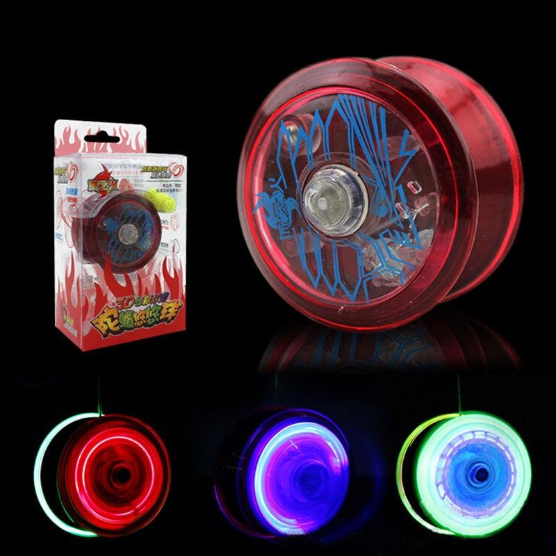 Flashing Luminous High Speed YoYo Ball Child Clutch Mechanism Yo-Yo Toy for Kids