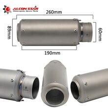 Motor Melarikan Alconstar-60mm Muffler