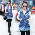 Fashion Waistcoats Vest Women Cardigans Jacket Winter Warm Clothes Coats Denim Outwear Woman Vest Coat Female Clothing