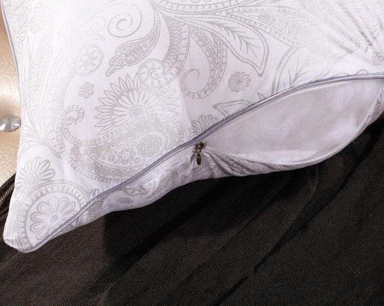 Stuk beddengoed set veren kussen katoen nekkussen met polyester