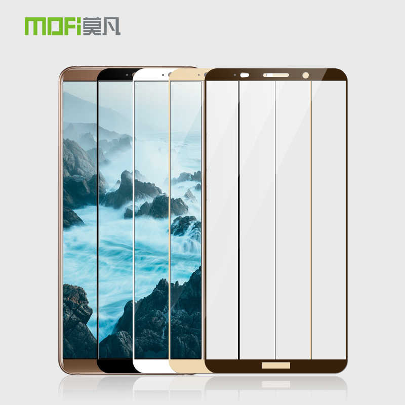 Huawei mate 10 pro Tempered Glass Original Mofi Full Cover Screen Protector for mate10 pro 6.0'' Glass Tempered Protective Film