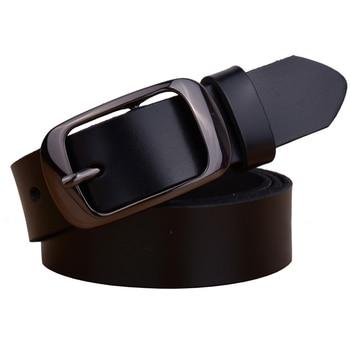 цена на Factory Direct Quality Assurance Best Price New Fashion Cowskin Leather Women Belt Brief  Women Strap Designer Casual Belt