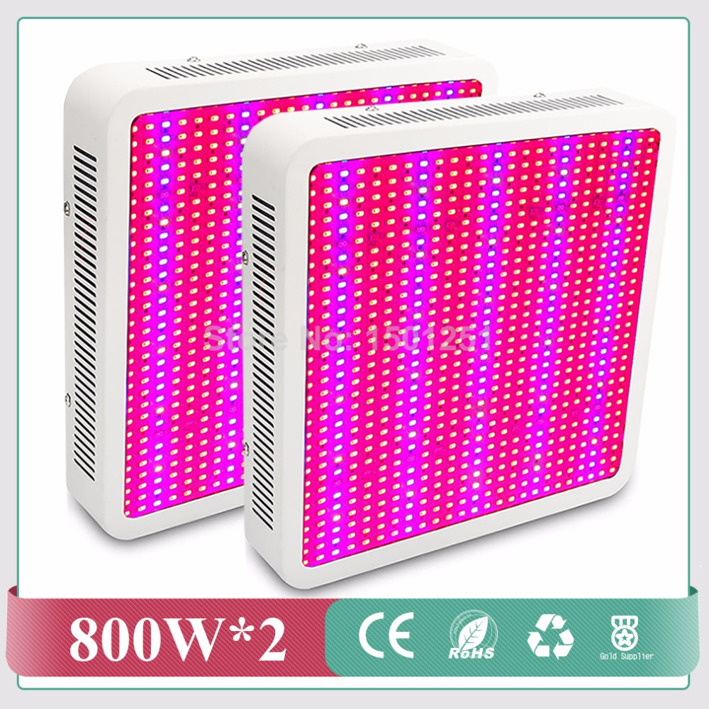 2pcs/lot Full Spectrum 800W led grow light for hydroponics greenhouse Grow Tent LED Lamp suitable for all stages of plant growth best full spectrum 300w led cultivate light for hydroponics greenhouse grow tent led lamp suitable for all plant growth 85v 265v