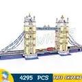 4295 Uds arquitectura de fama mundial puente de Londres creador experto Torre 30001 figura bloques de construcción juguetes compatibles