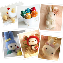 6 Colors Wool Felt DIY Craft For Handmade Weaving Room Decoration Kids DIY Fun Doll Needlework Raw Craft