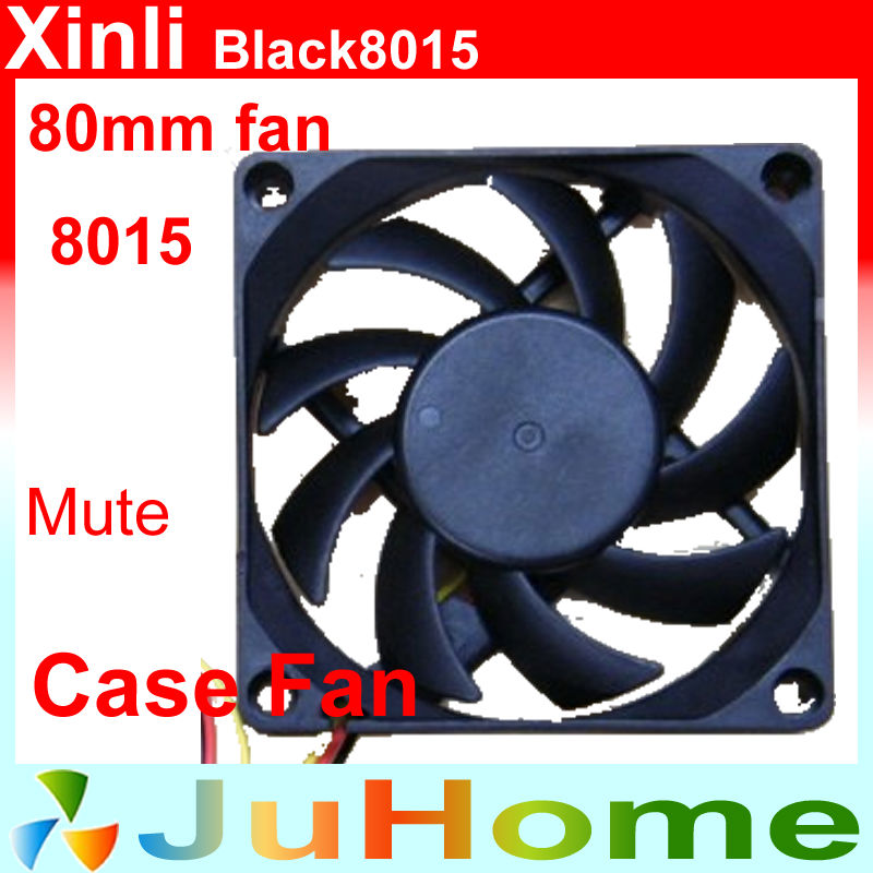 80mm, 8cm fan, 8015 fan, super mute, for power supply, for computer Case cooler, XinLi Black8015 4pin pwm cooler fan 80mm 8cm fan case fan for power supply for computer case computer fan cooler foxconn 8025pwm