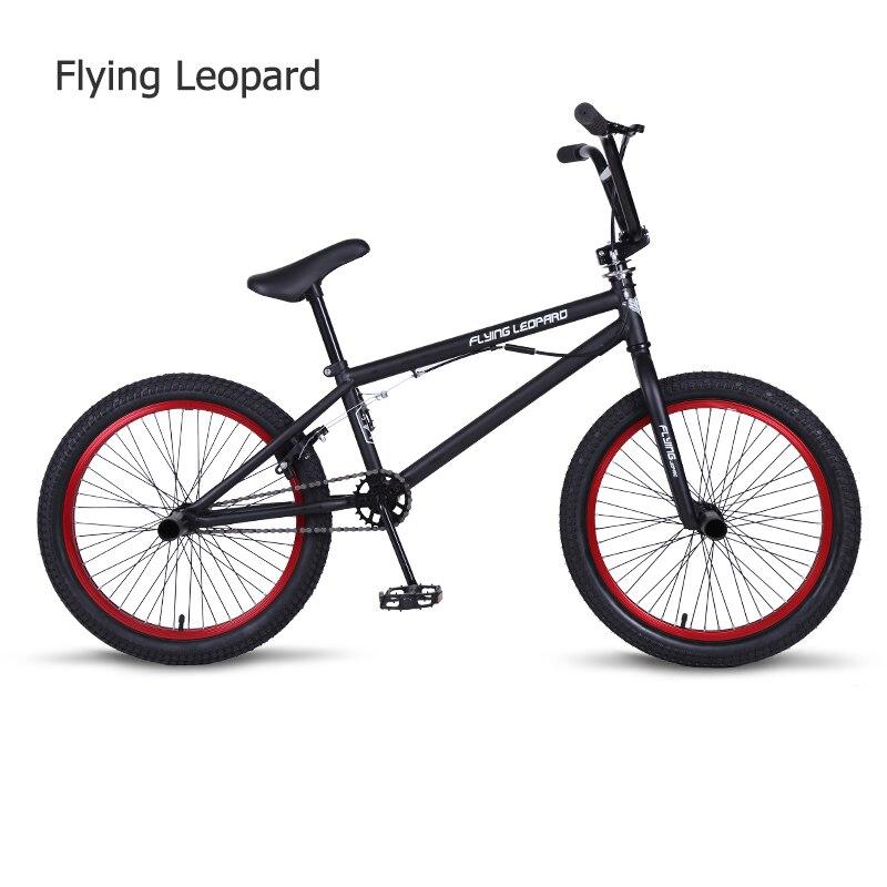 BMX BMX 20 Polegada estrutura de aço da bicicleta Da Bicicleta Desempenho roxo/vermelho pneu de bicicleta para mostrar Dublê Acrobática Moto traseira fantasia da bicicleta da rua