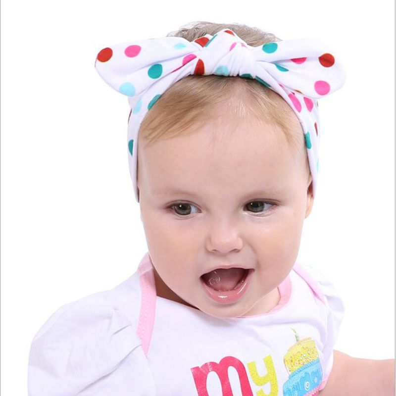 JRFSD 1 pcs Cute Color Headband Knotted Bow Head Wraps Hair Bands Flowers Cotton Headband Kids Hair Accessories FS0 jrfsd cute solid color headband knot hair bands elasticity hairbands 100