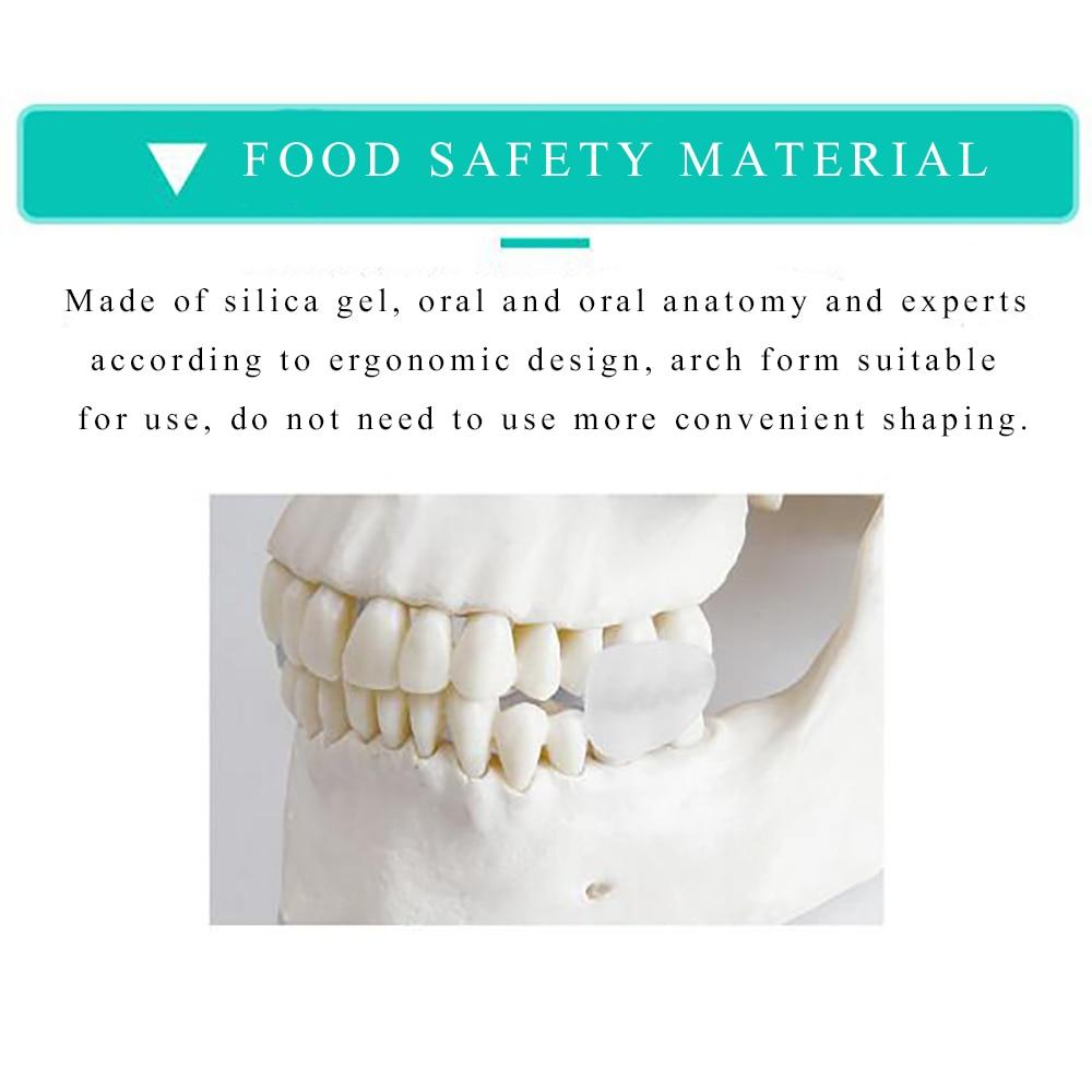1Pair Dental Mouth Guard Forhindre Night Tands Tand Slibning Sleep - Sundhedspleje - Foto 5