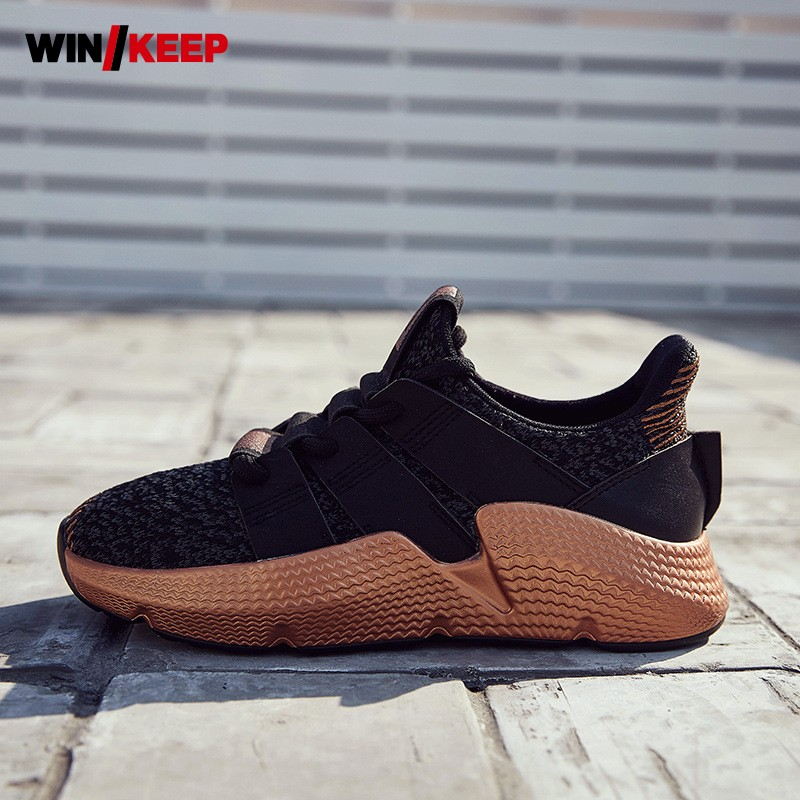 2018 New Women Outdoor Sports Shoes Harajuku Boyfriend Streetwear Thick Platform Trainer Running Shoes Female Walking Sneakers