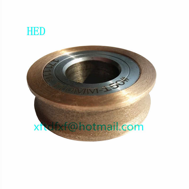 Diamond Wheel Flat with  for Glass Wheel For Glass Pencil Machine tool Copper alloy Abrasive Disc