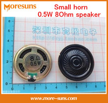 Fast Free Ship 100pcs Small horn 0.5W 8Ohm speaker good quality trumpet/Audio Accessories loudspeaker