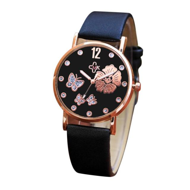 Bracelet Leather Simple Strap Watches Luxury Wrist Watches 1