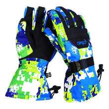 COPOZZ Unisex Super Warm Protection Water Resistant Ski Glove for Outdoor Activity