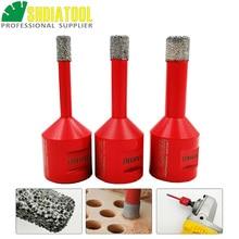 цена на Free -shipping 3pcs/set   Vacuum brazed diamond drilling core bits with M14 connection, Dry drilling