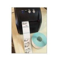 Черное настольное термопечатающее устройство Принтеры штрих кода этикетка принтер стикер для штрих кода принтер мороженница с высокой ско