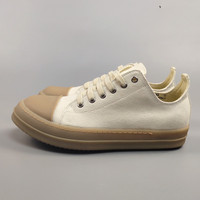 Real Picture sew ling high quality flat casual canvas shoes shallow comfortable TPR Sole little white casual shoes