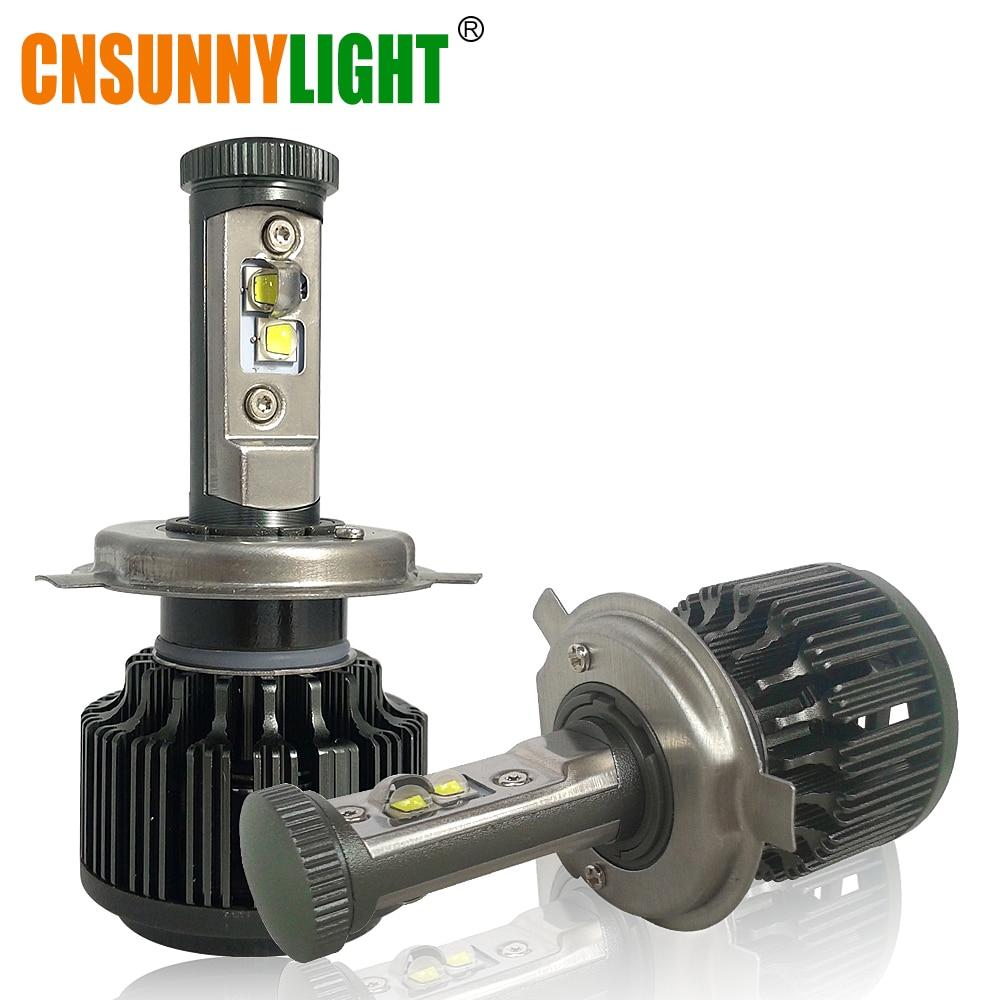CNSUNNYLIGHT H4 Hi/Lo H7 H11 9005 9006 Fari Dell'automobile LED 8000lm 3000 K 4300 K 6000 K Alta luminosità Luci Auto Kit di Conversione