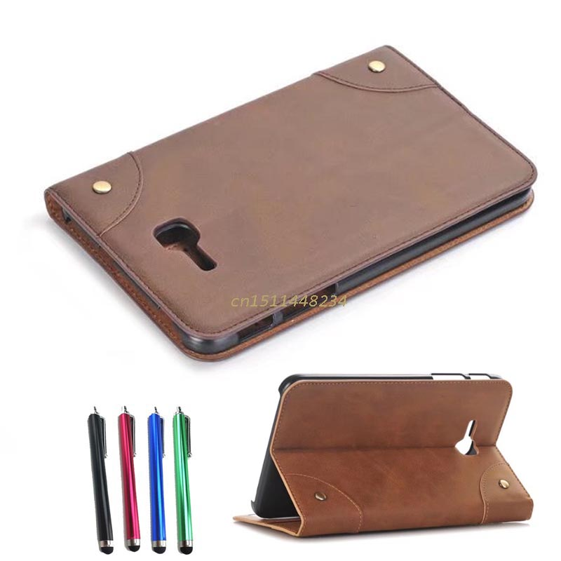 High quality fashion Luxury case for Samsung Galaxy Tab 3 Lite 7.0 Tablet Book Cover pu Leather Smart Case SM-T111 T110 T113+pen ultra thin smart flip pu leather cover for lenovo tab 2 a10 30 70f x30f x30m 10 1 tablet case screen protector stylus pen