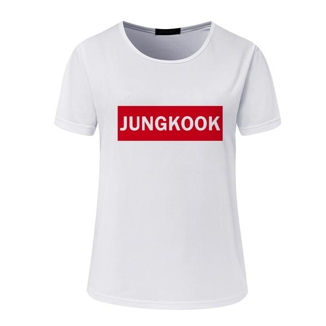 BTS Moletom Printed Casual T-shirts