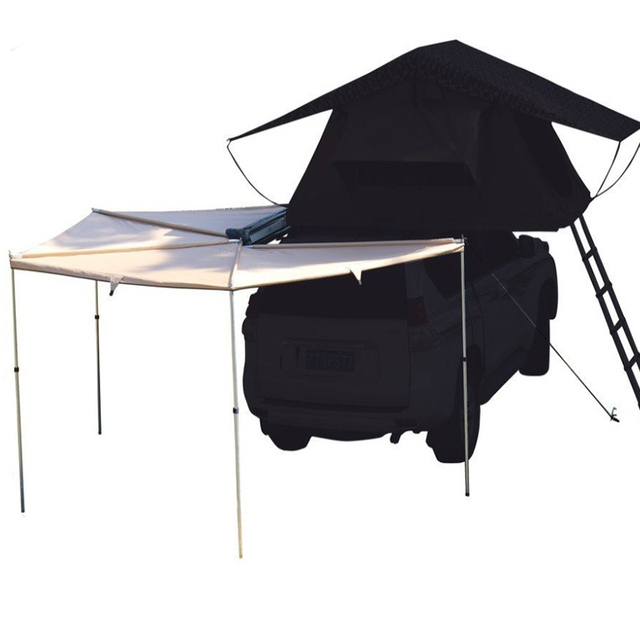GRNTAMN Radius 2m 4 Side Sector Side Car Tent Awning 2m Roof Tent Awning Sunshade