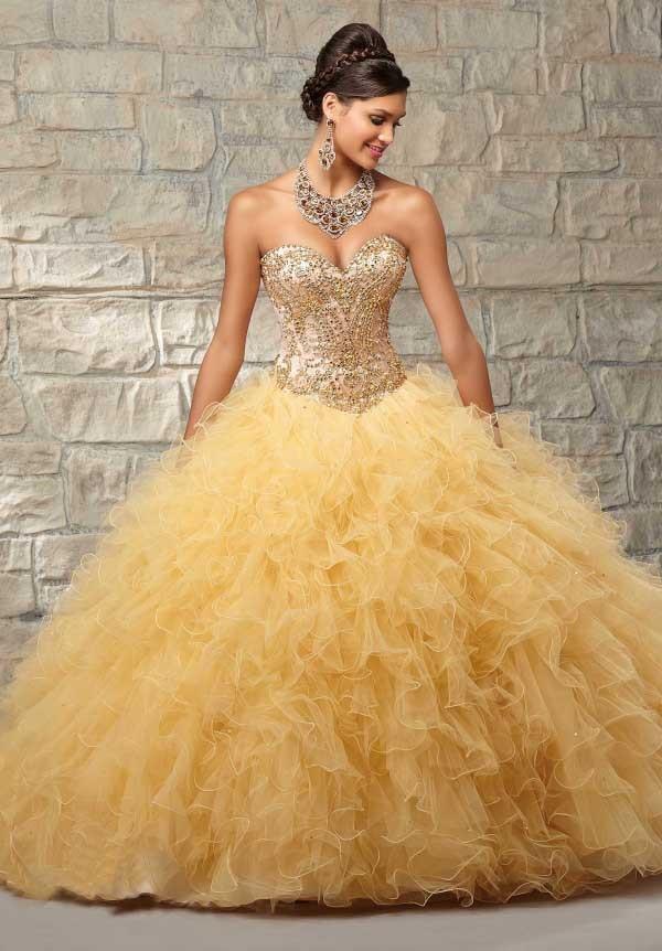 Light yellow 15 dresses