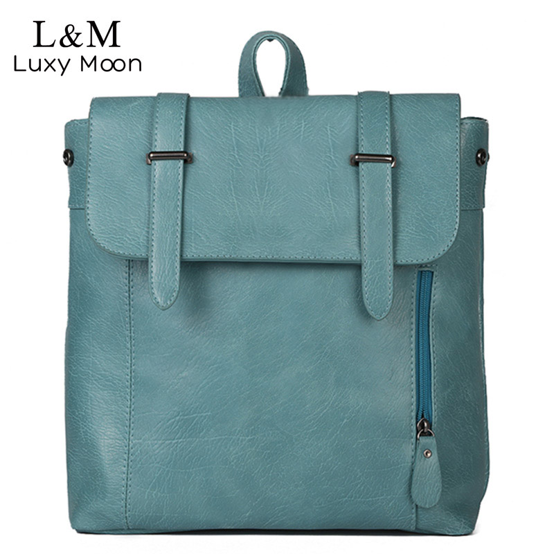 Black Backpack Women High Quality PU Leather Backpacks Fashion Preppy Style School Bag Back Pack Casual Girls School Bags XA996H korea style fashion backpacks for men and women solid preppy style soft back pack unisex school bags big capicity canvas bag