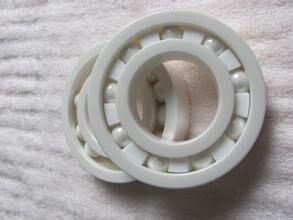 a44da438137a 6902 completo ZrO2 cerámica rodamiento de bolas profundo 15x28x7mm tipo  abierto P5 ABEC5
