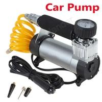 100PSI Super Flow Portable high quality Auto 12V Air Compressor Car Pump Tire Inflator