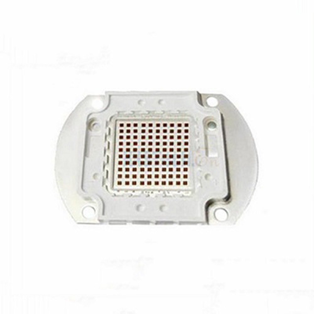 2pce/lot 80w 100w 850nm red led Infra red led 850nm 100w 80w chip 37mm 37 mm infrared infra red ir filter 850nm 850