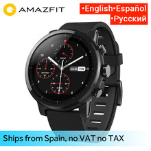 Huami Amazfit 2 Amazfit Stratos Pace 2 Smart Watch Men with GPS Xiaomi Watches PPG Heart Rate Monitor 5ATM Waterproof(China)