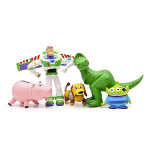 Image 5 - 디즈니 토이 스토리 풀 컬렉션 보안관 우디 버즈 라이트 이어 제시 hamm rex slinky dog 미스터 감자 머리 인형 액션 피규어
