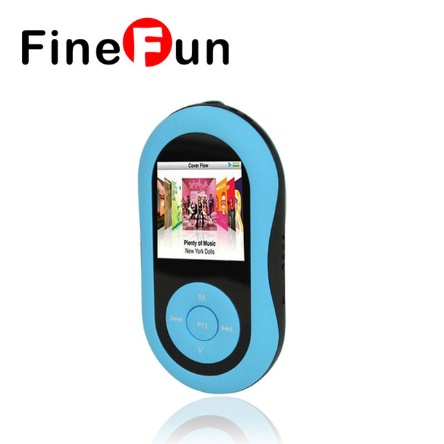 FineFun Portable MP4 Player 1.8 inch LCD Screen Support Micro SD Sport mp4 Music Player Radio FM Ebook Video player
