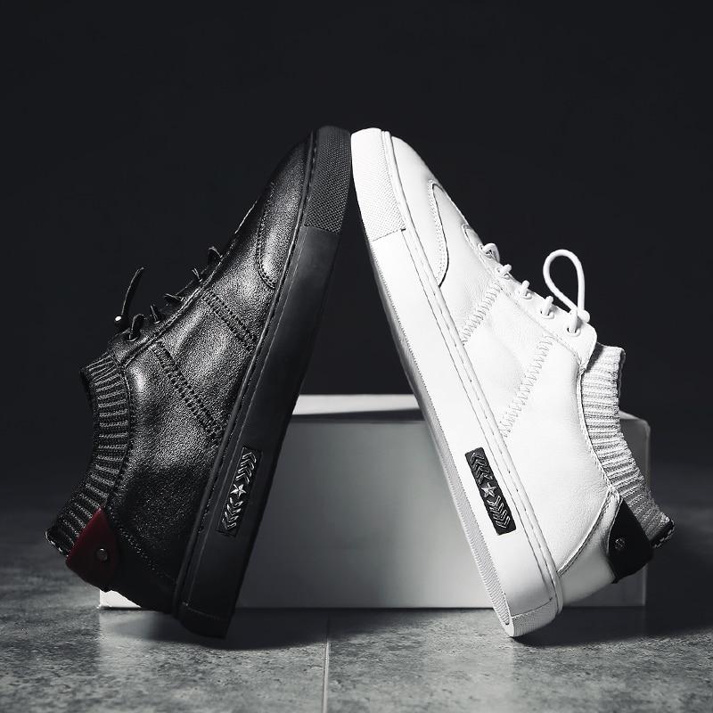 NINYOO Zapatos casuales de los nuevos hombres de la manera Zapatos de - Zapatos de hombre - foto 5