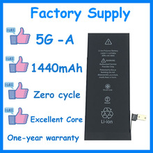 DaDaxiong 10pcs/lot Factory Supply 1440mAh Battery for iPhone 5 5G Genuine zero cycle replacement repair parts 5G-A