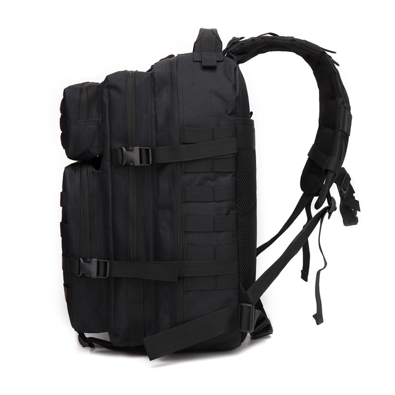 45L 3P Military Bag Army Tactical Outdoor Camping Men's Military Tactical Backpack Oxford for Cycling Hiking Sports Climbing Bag