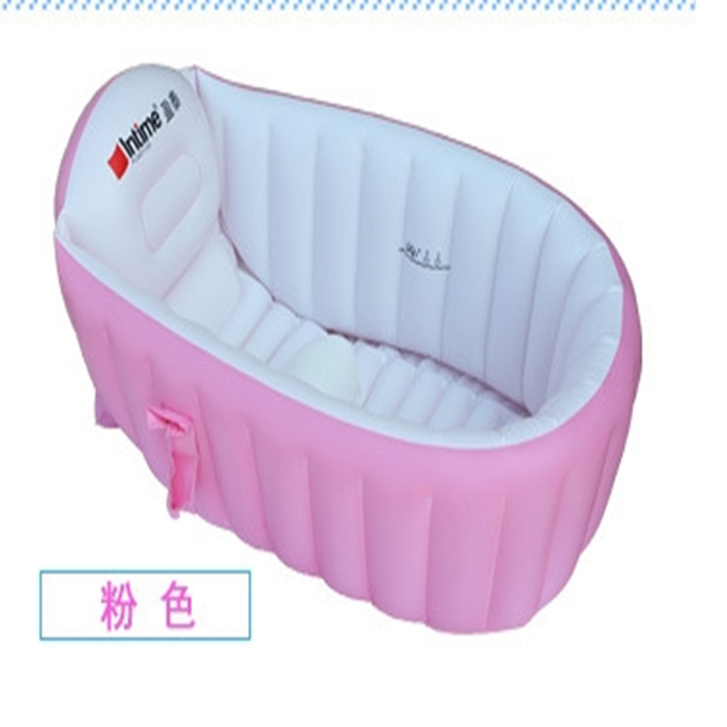 opzione portable piscina 0 3 anni scherza vasca da bagno ispessimento pieghevole bambini lavandino bambini