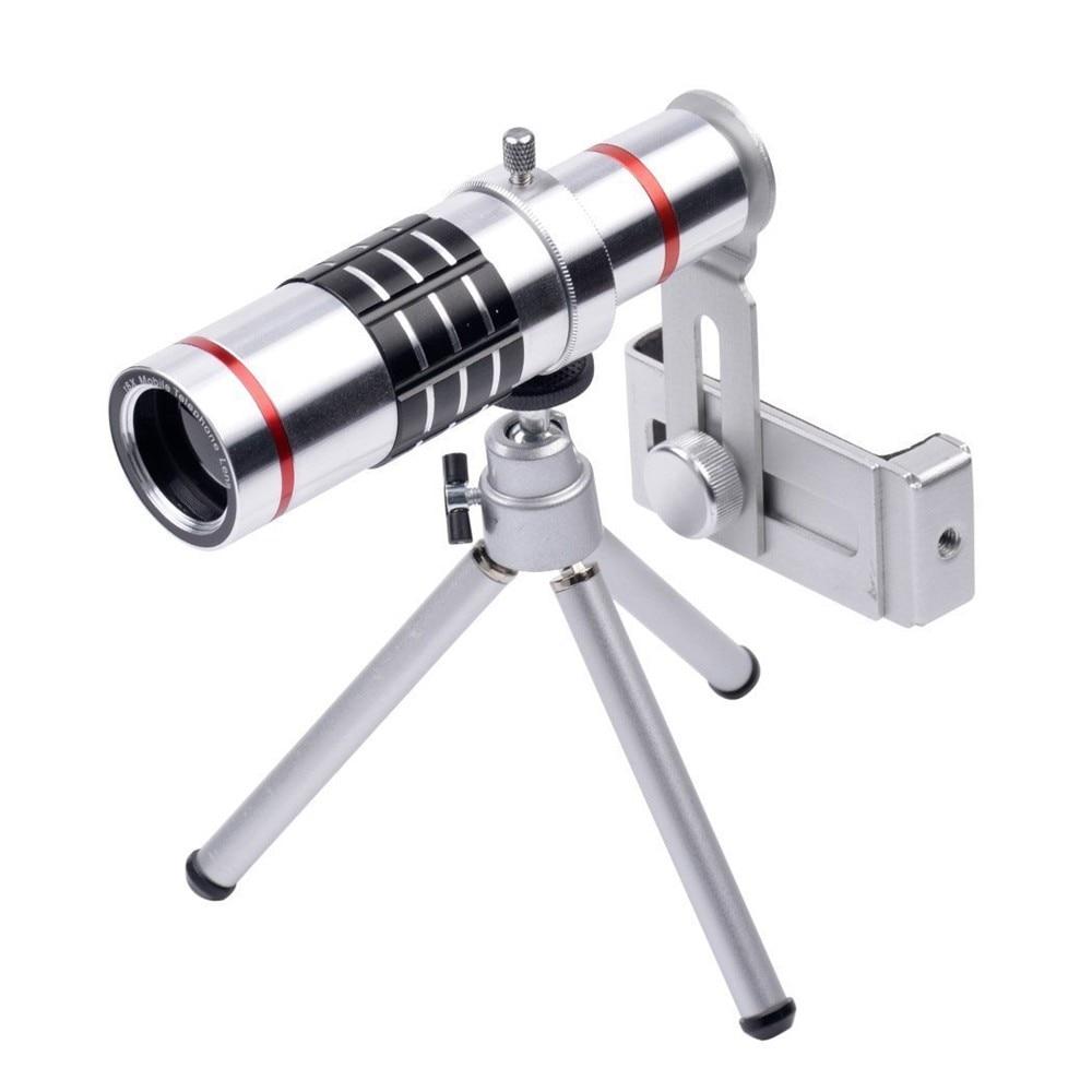 KRY 18x lentes Universal Zoom Camera Phone Lens Optical Telescope Telephoto Lenses Tripod For iPhone 5s lens 6 6s 7 Plus Lens 5
