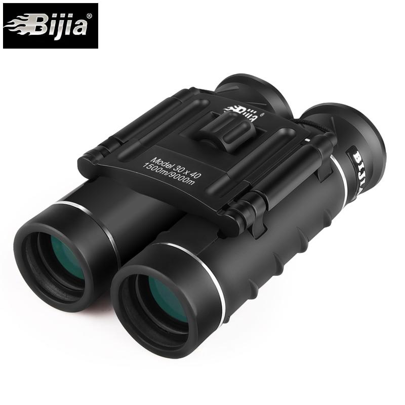 BIJIA 30X40 Hohe mal gefaltet jagd compact fernglas teleskop mit Bak4 Alle-optische FMC Grün film für jagd tourismus