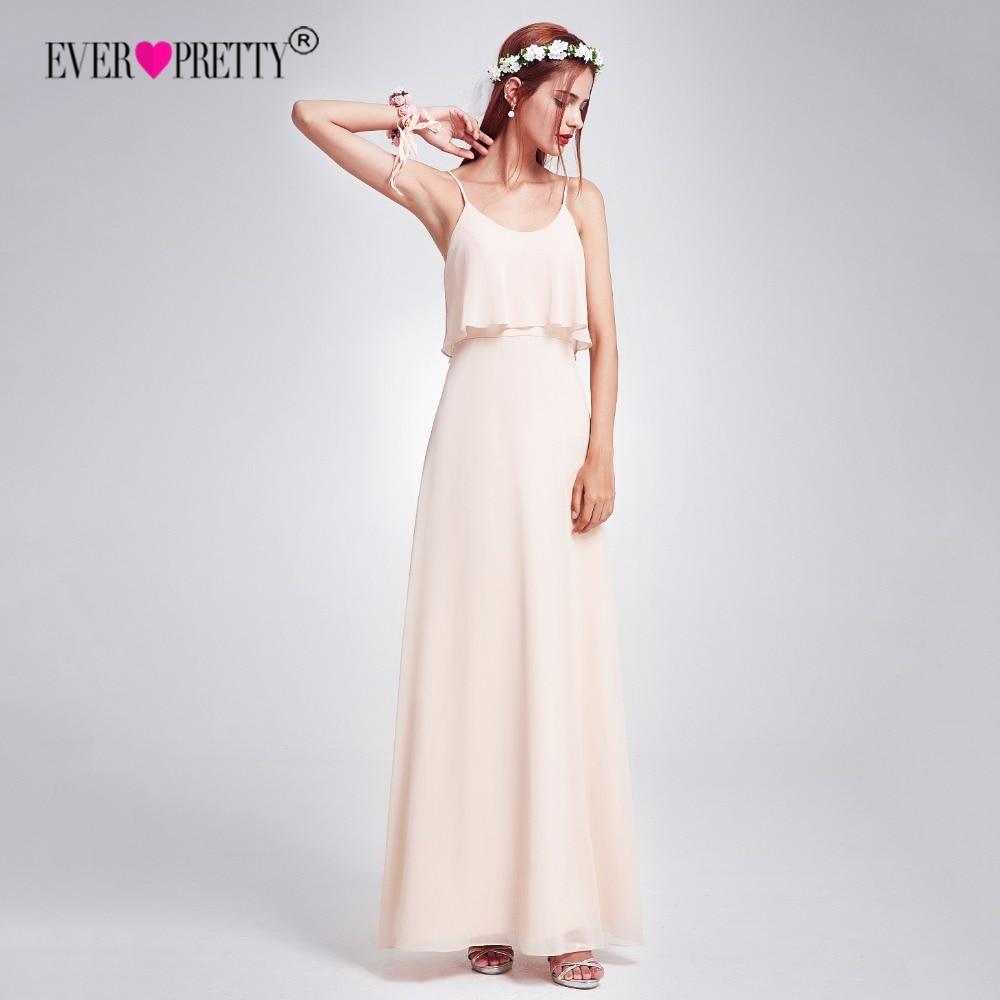 Elegant Bridesmaid Dresses Ever Pretty EP07131 Long Chiffon Wedding ...