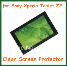 "2pcs Ultra Clear Screen Protector Protective Film for 10.1"" Tablet PC Sony Xperia Tablet Z2 No Retail Package Size 258.5x165mm"