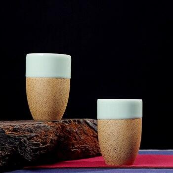 Taza de té de celadón de cerámica de gran capacidad de TANGPIN taza de café hogar chino taza de kung fu 250 ml