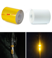 5cmx10m Reflective Warning Tape With Color Printing For Car
